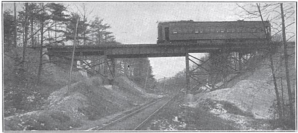 The trestle at pope lick creek